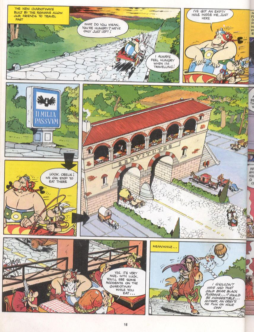 Read online Asterix comic -  Issue #16 - 15