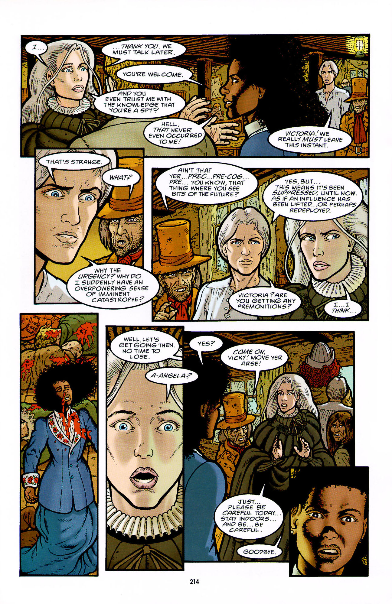 Read online Heart of Empire comic -  Issue #7 - 20