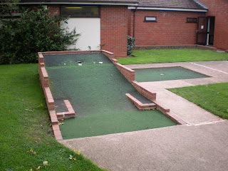Mini Golf at the Four Ashes Golf Centre in Dorridge, Solihull