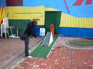 Mini Golf course in Herne Bay, Kent