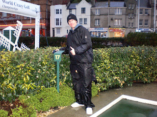 Richard Gottfried - 17th in the world following the 2008 Castle Golf World Crazy Golf Championships in Hastings