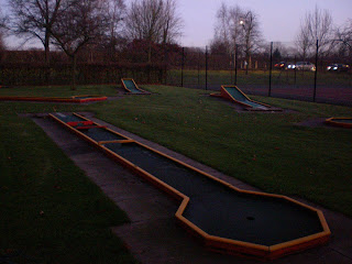 Crazy Golf at Florence Park in Cowley, Oxford