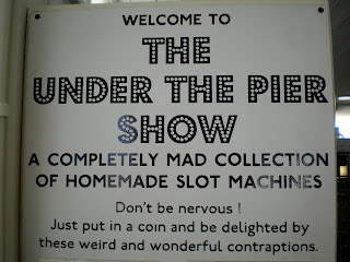 Under the Pier Show in Southwold, Suffolk