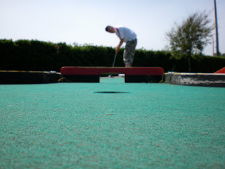 Mini Golf course in Dovercourt, Essex