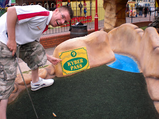 Augusta Masters Adventure Golf course in Clacton-on-Sea, Essex