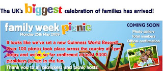 "Guinness World Record for the ""The Largest Picnic across multiple venues""."