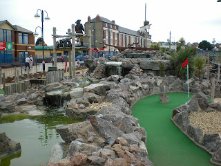 Mini Golf in Barry Island