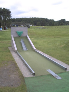 Crazy Golf at Pembrey Country Park