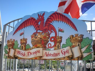 Welsh Dragon Adventure Golf, Rhyl