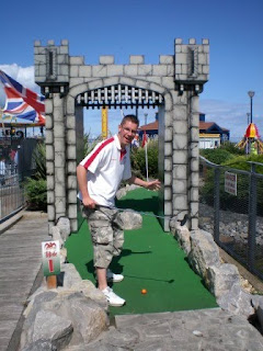 Welsh Dragon Adventure Golf in Rhyl