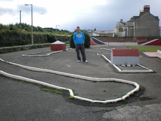 Crazy Golf course in Llanfairfechan, Wales