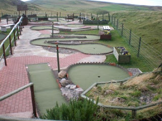 Rocky Pines Adventure Golf course in Llandudno, Wales