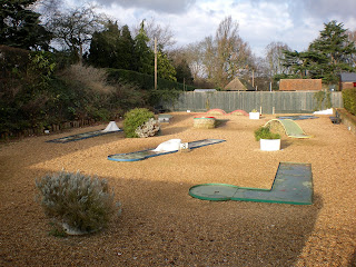 Miniature Golf course in Colchester, Essex