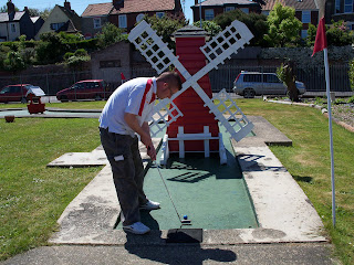 Crazy Golf at Pops Meadow Putting Green in Gorleston-on-Sea