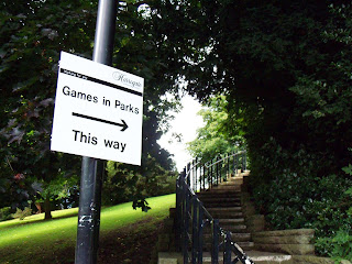 Games in Parks at Conyngham Hall Grounds in Knaresborough
