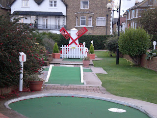 LillyPutt Mini Golf in Broadstairs, Kent