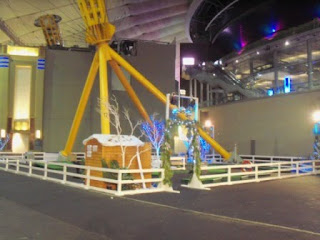 Minigolf course at The O2 in London