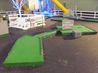Q-Golf mini golf course at The O2