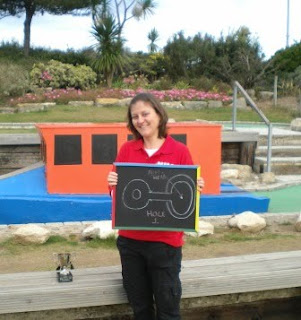 Emily Gottfried - Coach of the Midlands Minigolf Club in 2009