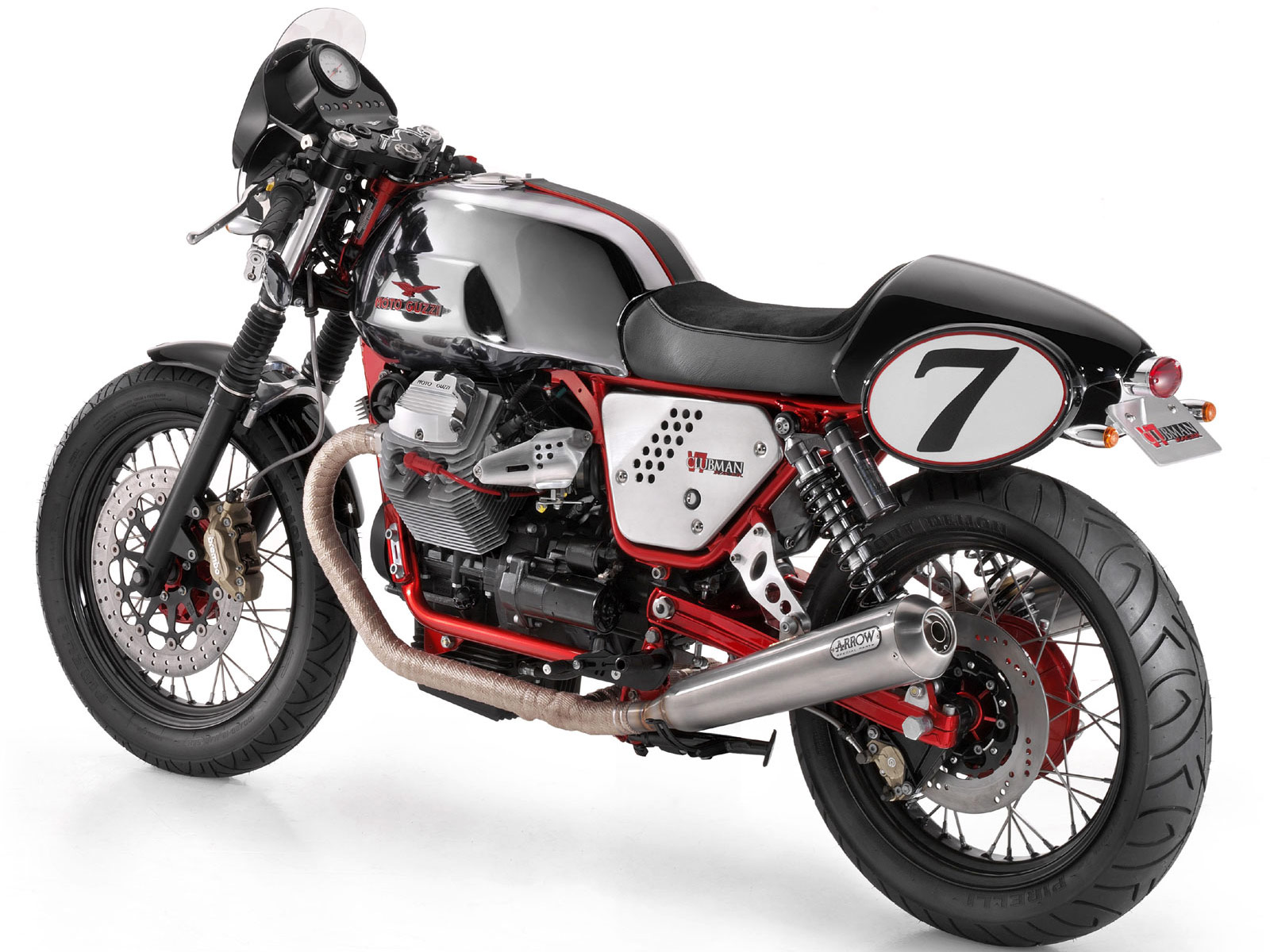 MOTO GUZZI V7 Clubman Racer (2010) Wallpapers