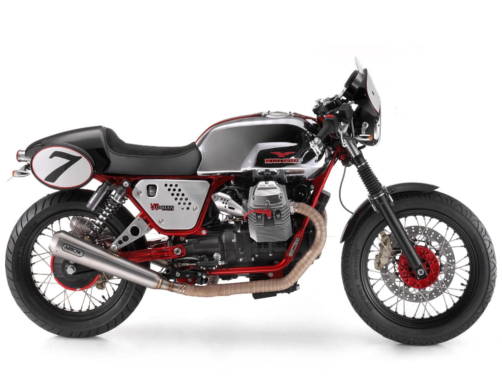 moto guzzi v7 clubman racer 2010 wallpapers. Black Bedroom Furniture Sets. Home Design Ideas