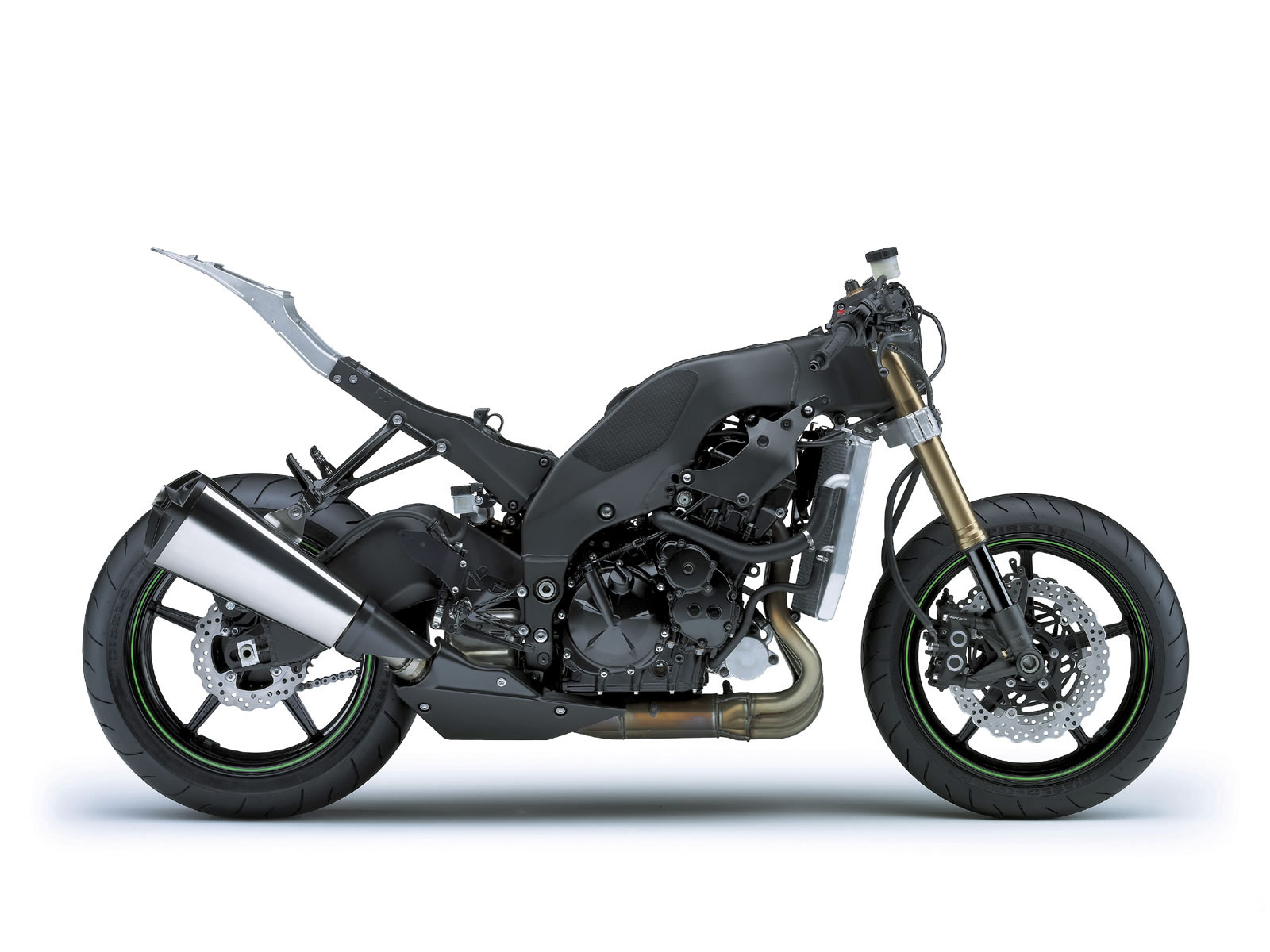 gambar motor KAWASAKI Ninja ZX10R 2008 specs