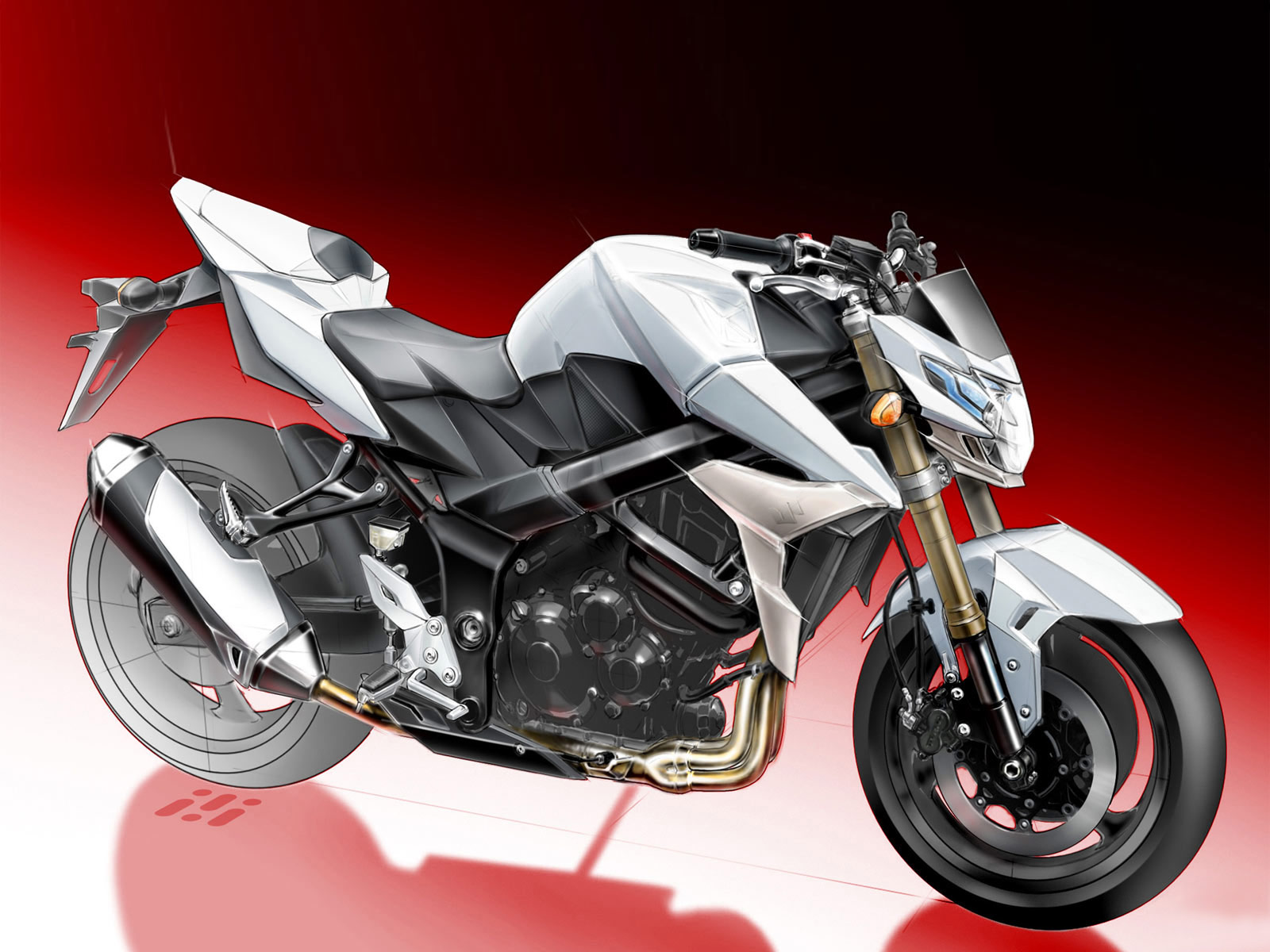 Gambar Motor SUZUKI 2011 GSR 750 specifications