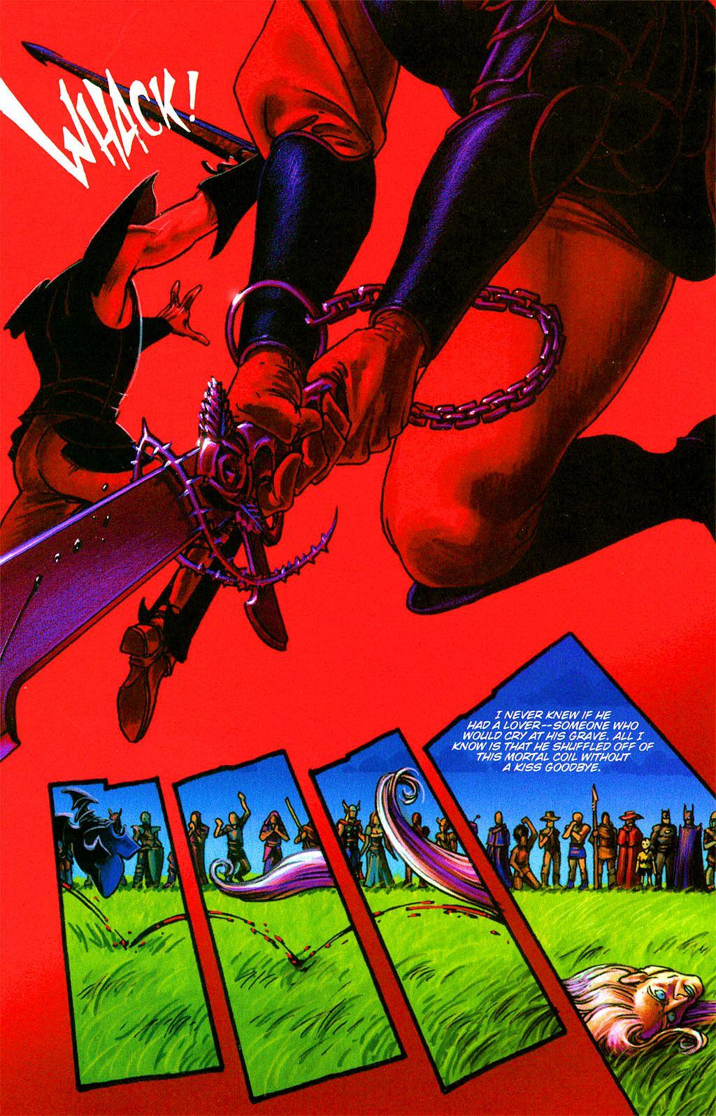 Read online Dawn: Three Tiers comic -  Issue #2 - 8