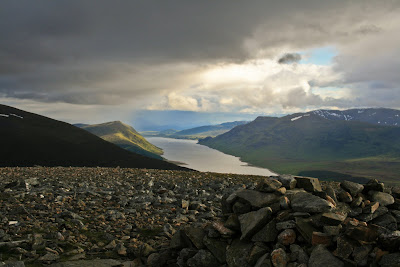 Loch Ericht from Geal Charn