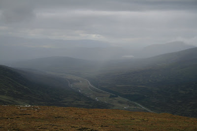 Spey Vally from A' Mharconaich