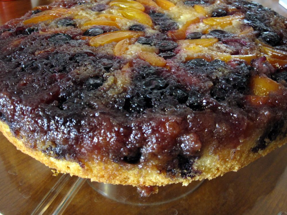 blueberry upside down cake happy go marni apricot blueberry cake 1978