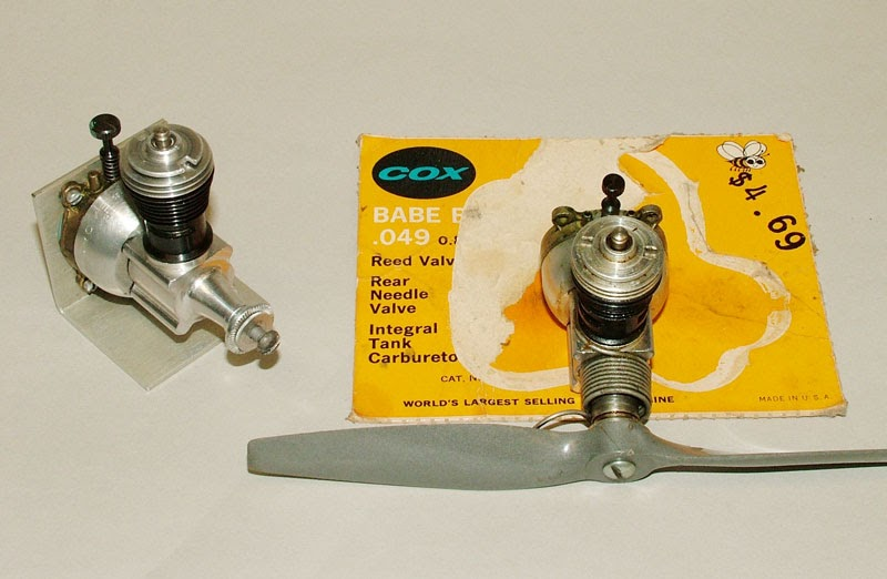 Cox .049 Airplane Engine Fuel Tank Conversion Kit Babe Bee 5cc 049