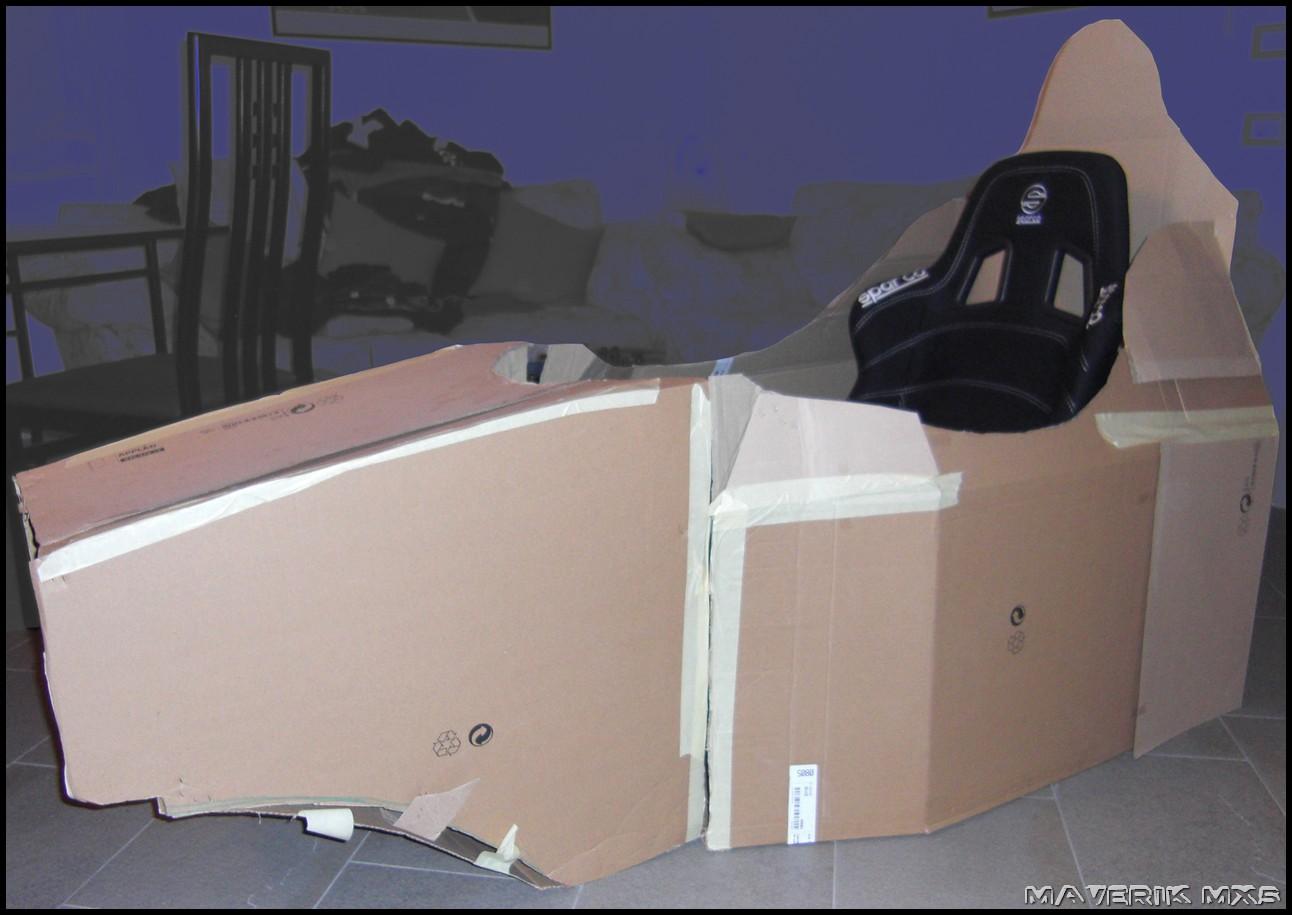Maverik Corner MX5: My DIY Racing Simulation Cockpit