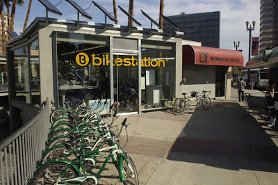 Image of Long Beach Bike Station