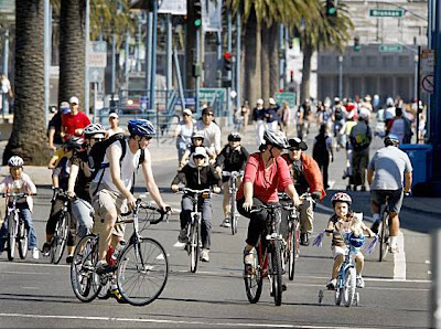 Image of Sunday Streets in San Francisco on August 31, 2008
