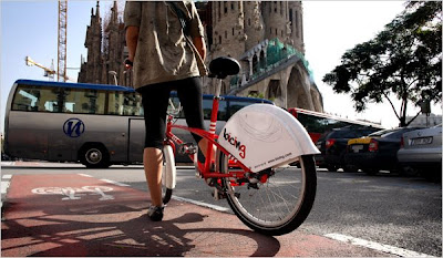 Image of Bicing bike share from Barcelona