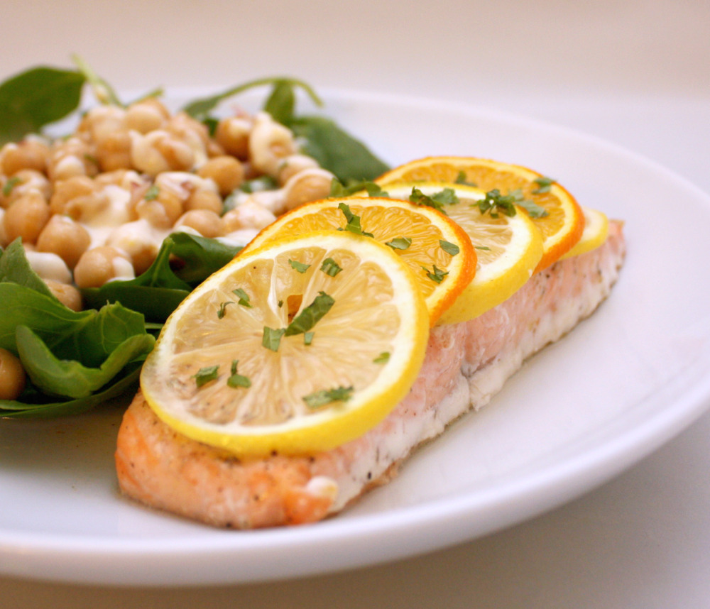 easy citrus salmon