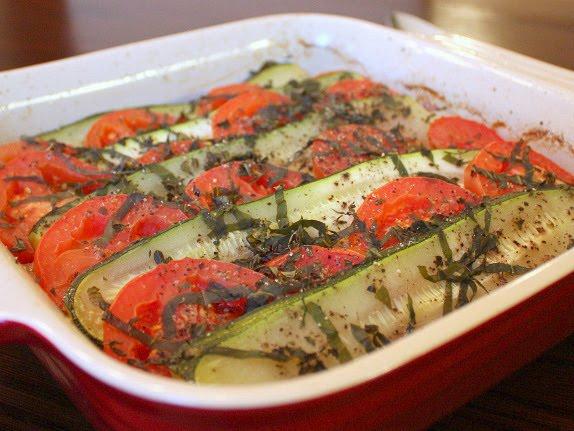 zucchini tomato tian