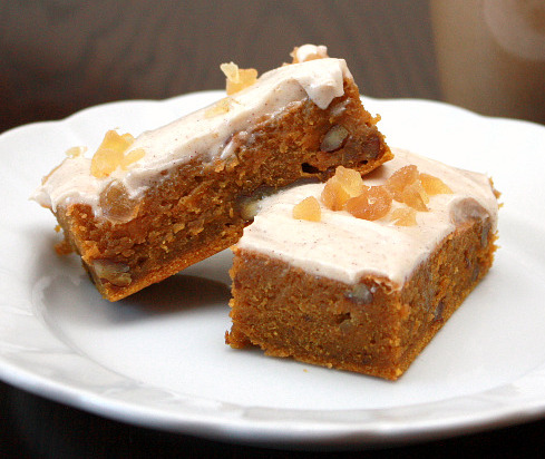 chair pumpkin bars