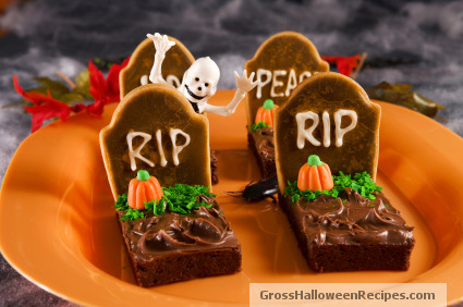 paranormal inferno book reviews tombstone brownies. Black Bedroom Furniture Sets. Home Design Ideas