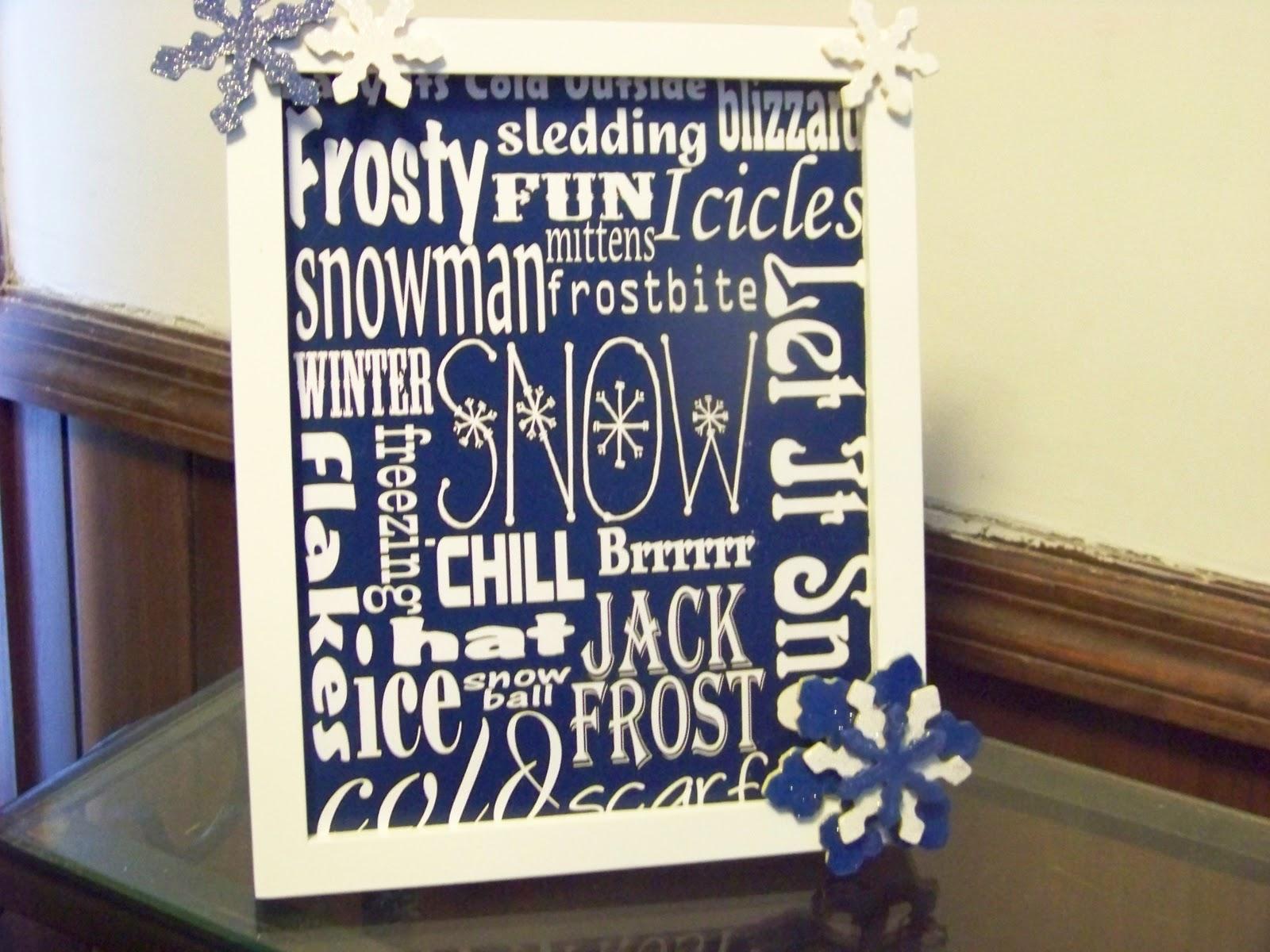 Christmas Subway Art Free Printable.Snow Winter Subway Art Free Printable Diy Party Mom