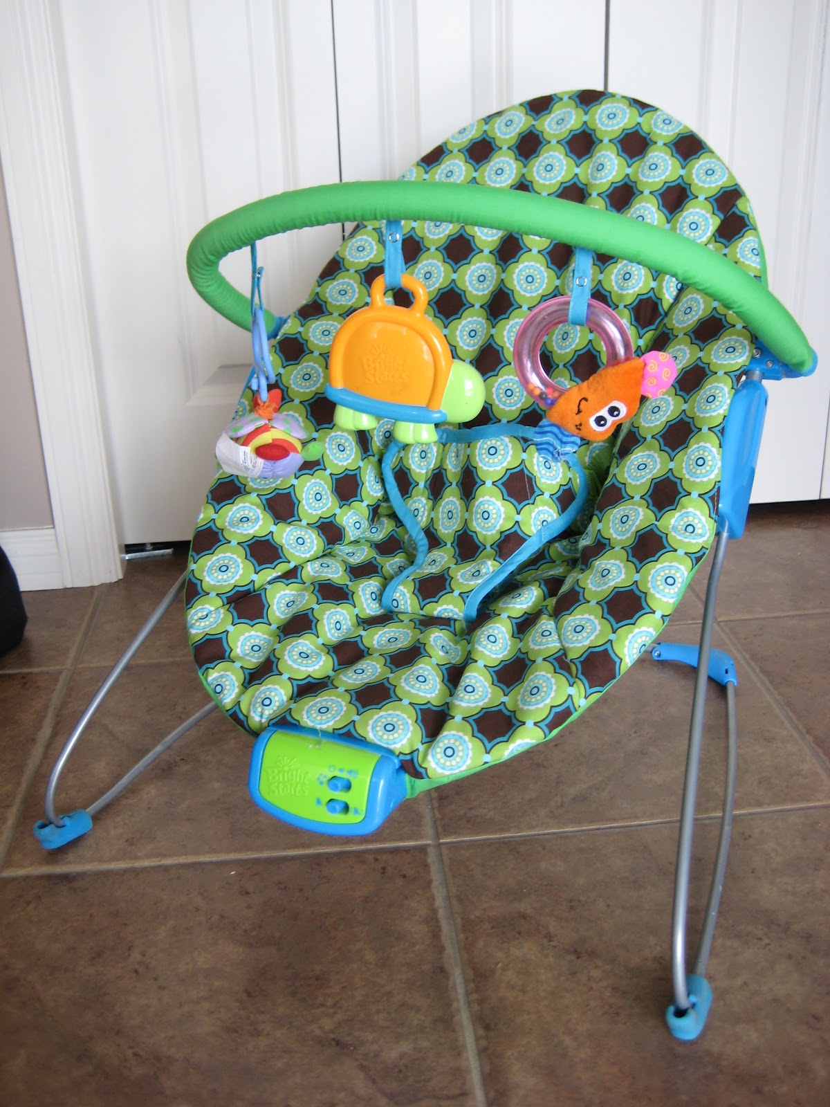 Bouncy Chairs For Babies Evergreen Revolving Chair Laura Thoughts Re Cover 1 Of 3