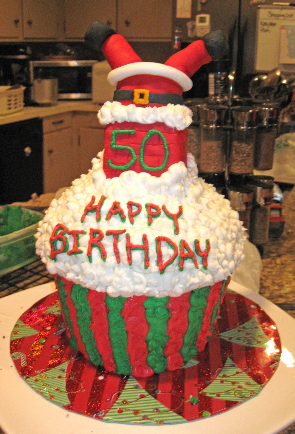 Project Of The Week Santa Birthday Cake Create Share