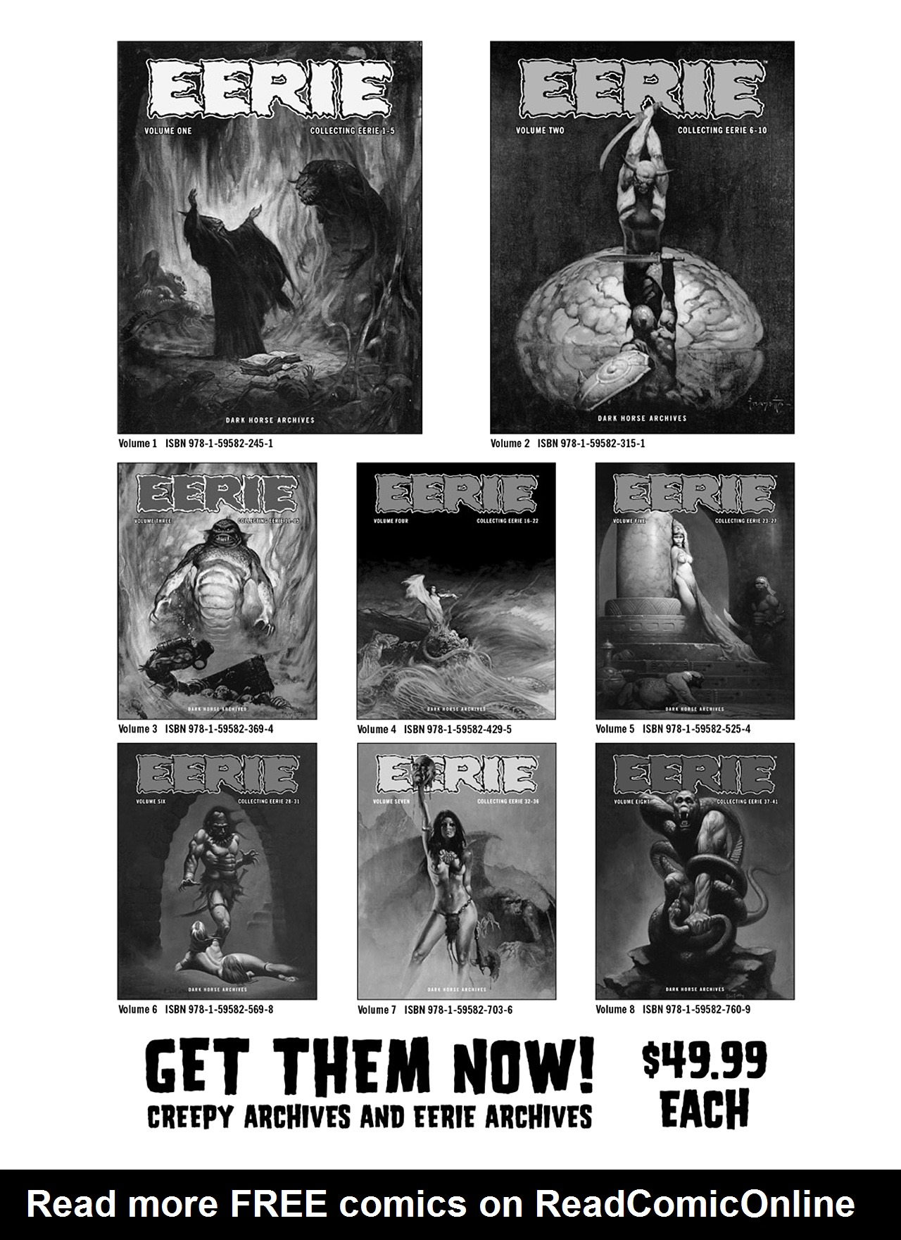Read online Eerie Archives comic -  Issue # TPB 9 - 272