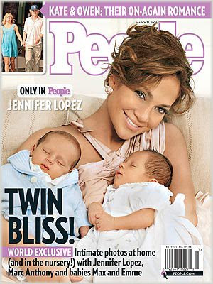 Lopez has named her new children - Max  amp  Emily - which struck me as    Jennifer Lopez Twins Names