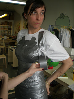 Etsy Labs Archive Dress Form Tutorial Want To Make An Exact Replica Of Your Body For Custom Work