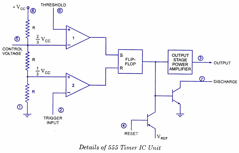 Ready to help: Internal Schematic of IC 555 on