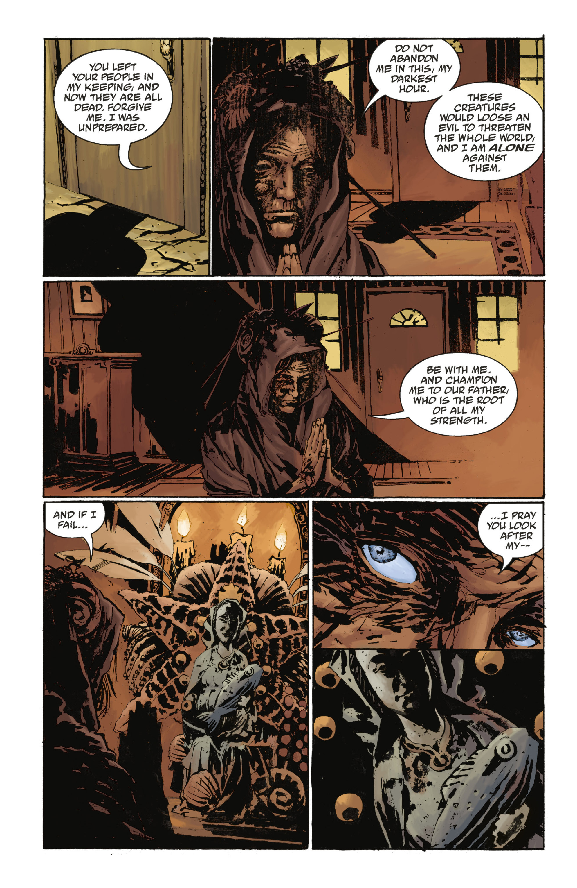 Read online Abe Sapien: The Drowning comic -  Issue #Abe Sapien: The Drowning _TPB - 49