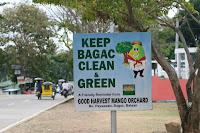 Keep Bagac Clean - Philippines Sign