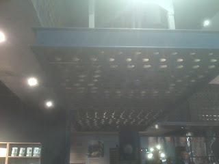 Starbucks Euro Disney Store: Wine Rack Lighting
